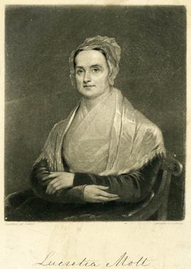 Lucretia Mott US Quaker campaigner.
