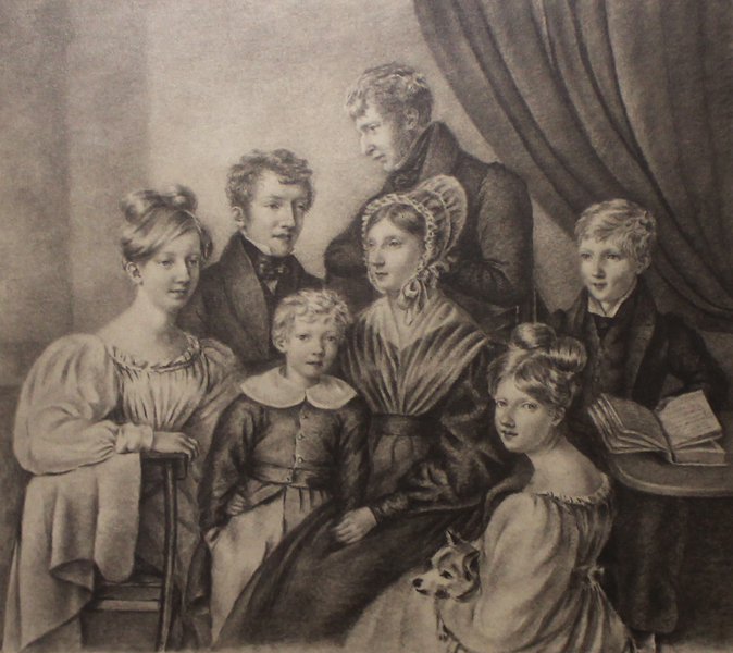 six of Elizabeth Fry's eleven children